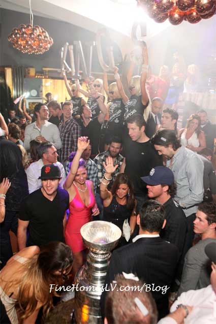 LA Kings at Hyde Bellagio