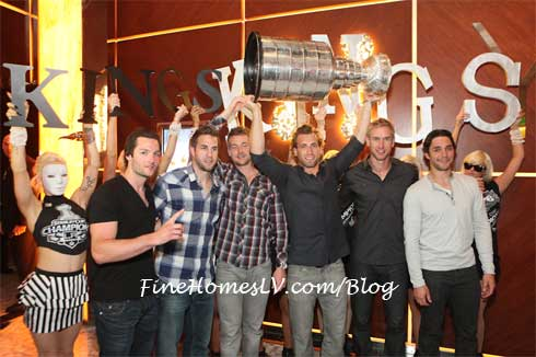 LA Kings at Hyde Bellagio Las Vegas