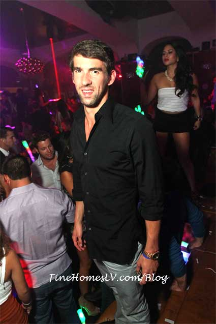 Michael Phelps at Hyde Bellagio