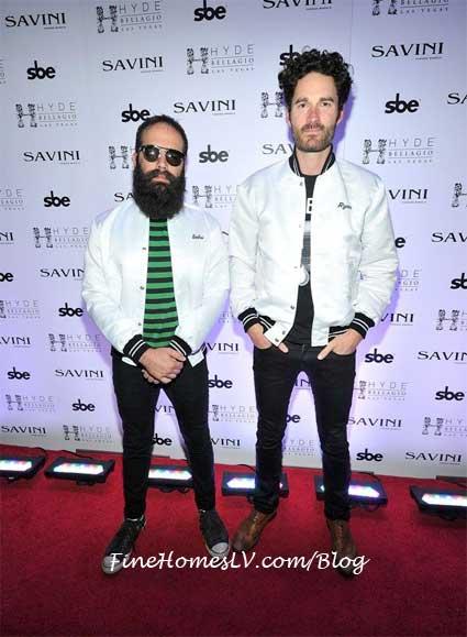 Ryan Merchant and Seb Simonian