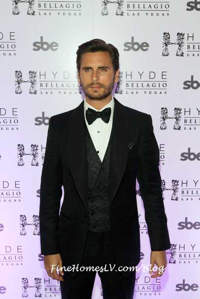 Scott Disick at Hyde Bellagio Las Vegas