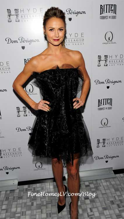 Stacy Keibler at Hyde Bellagio