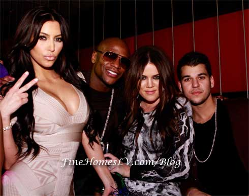 malika haqq and robert kardashian. Kim, Floyd, Khloe and Rob at