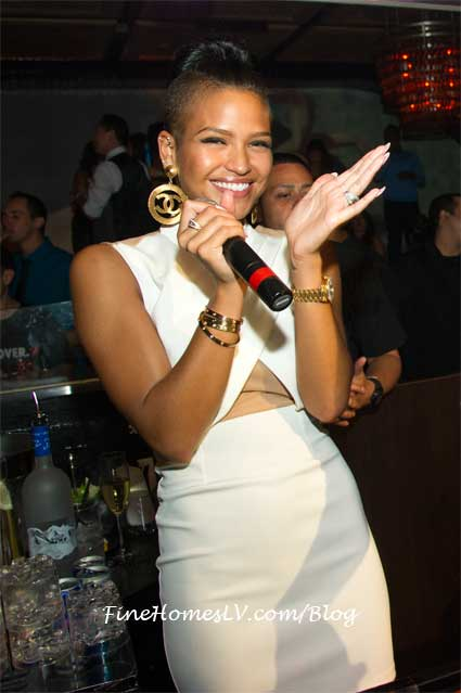 Cassie at LAVO Las Vegas