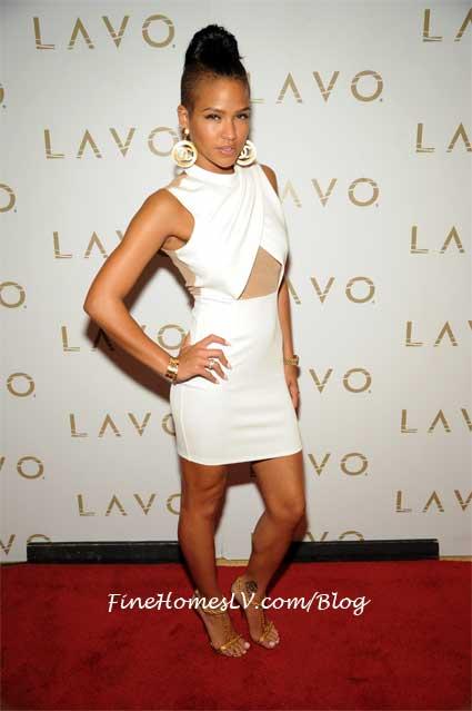 Cassie at LAVO