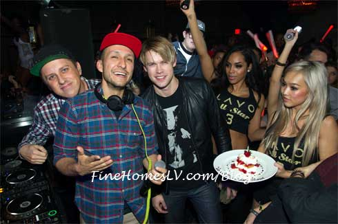 Chord Overstreet and DJ Vice