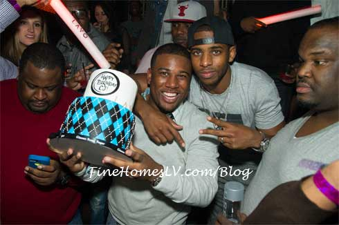 Chris Paul and CJ