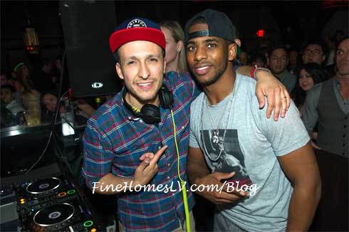 DJ Vice and Chris Paul