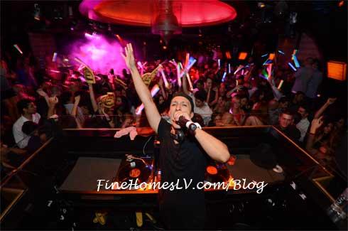 DJ Vice at LAVO