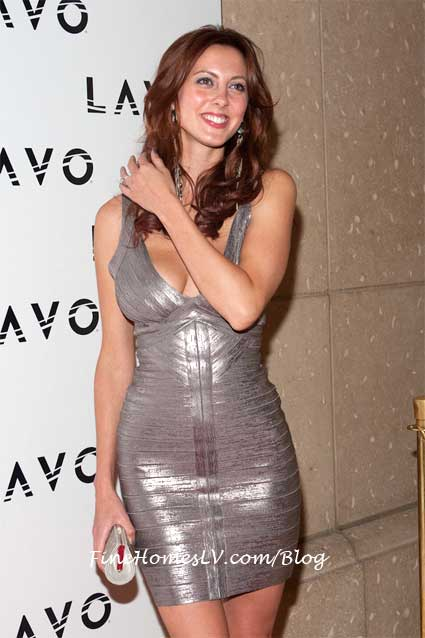 Eva Amurri On The Red Carpet At LAVO