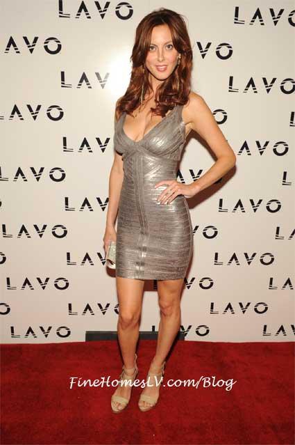 Eva Amurri at LAVO Las Vegas