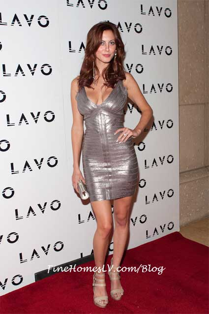 Eva Amurri On The Red Carpet At LAVO Nightclub