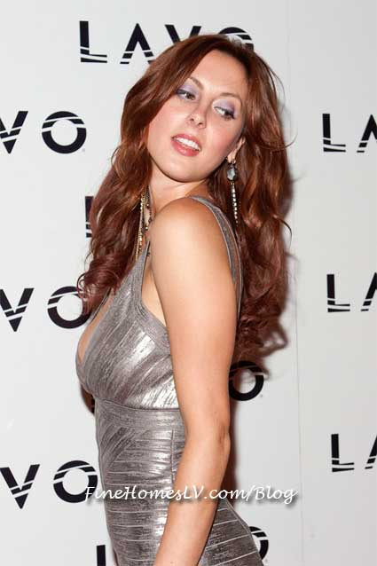 Eva Amurri at LAVO Red Carpet