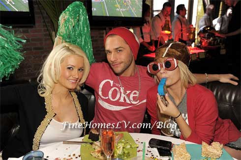Holly Madison, Josh Strickland and Angel Porrino