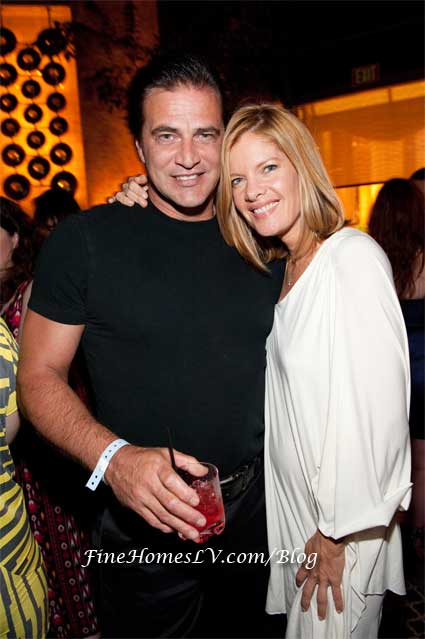John Enos III and Michelle Stafford