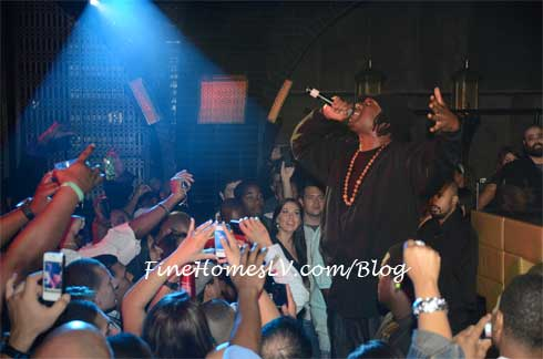 KRS One at LAVO Nightclub