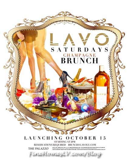 Saturday Champagne Brunch at LAVO Las Vegas