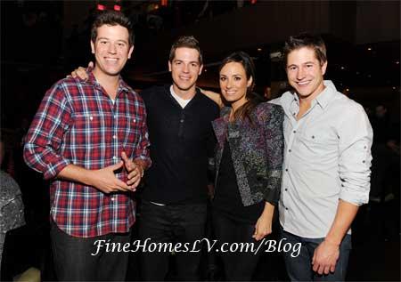 Jason Kennedy, Ben Lyons, Cat Sadler and Ryan Basford