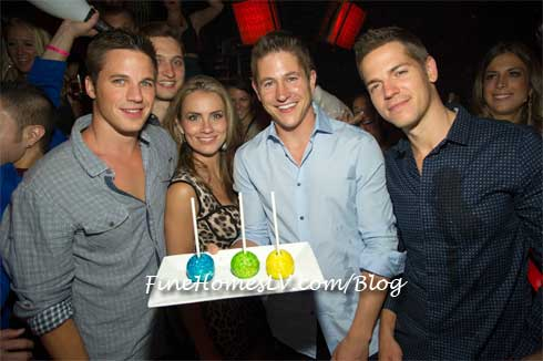 Matt Lanter, Angela Stacy, Ryan Basford and Jason Kennedy