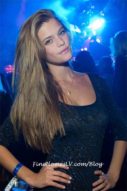 Nina Agdal at LAVO Las Vegas