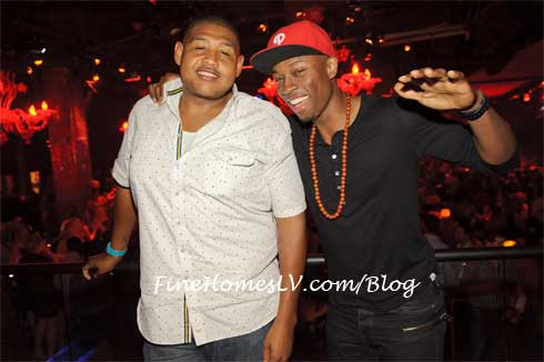 Omar Miller and Robbie Jones at LAVO