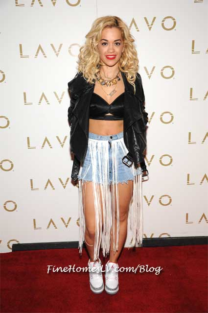 Rita Ora at LAVO