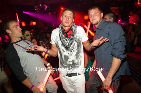 Ryan Lochte at LAVO