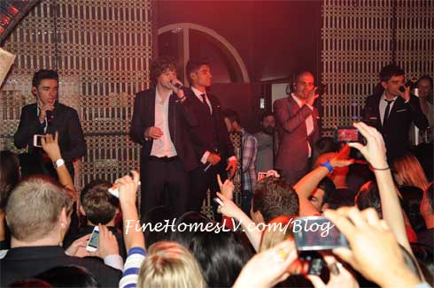 The Wanted at LAVO Las Vegas