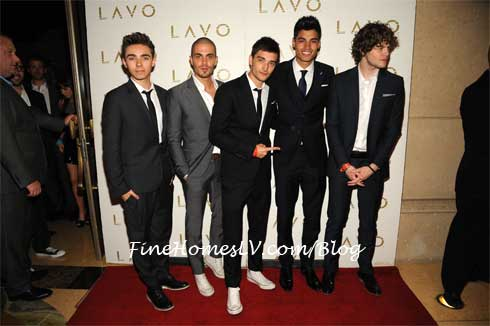 The Wanted at LAVO