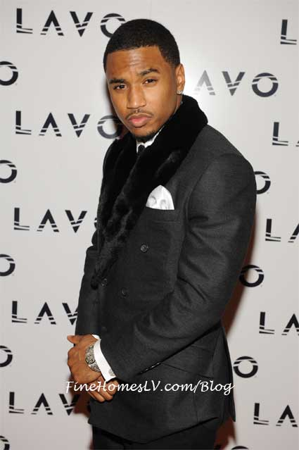Trey Songz At LAVO