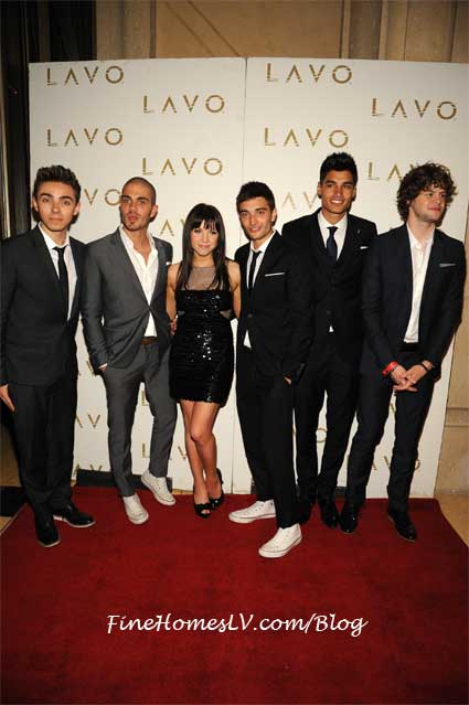 The Wanted and Carly Rae Jepsen