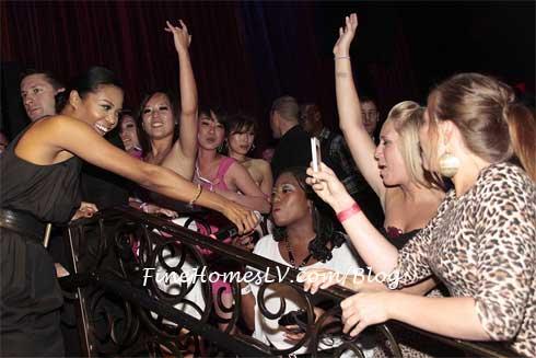 Amerie at LAX Nightclub
