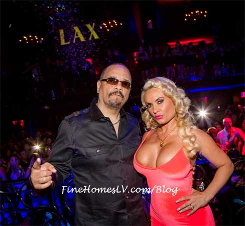 Ice T and Coco at LAX Las Vegas