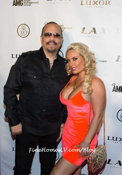Ice T and Coco at LAX Nightclub