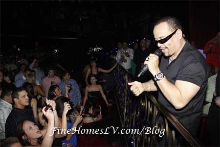 Ice T at LAX Nightclub
