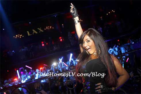 Snooki at LAX Nightclub