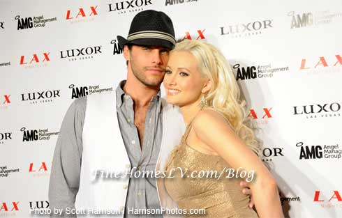 Josh Strickland and Holly Madison