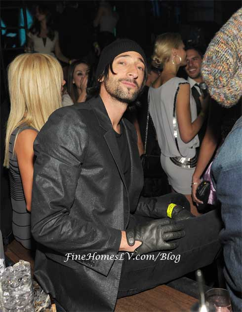 Adrien Brody at Marquee Nightclub