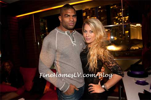 Alistair Overeem at Marquee