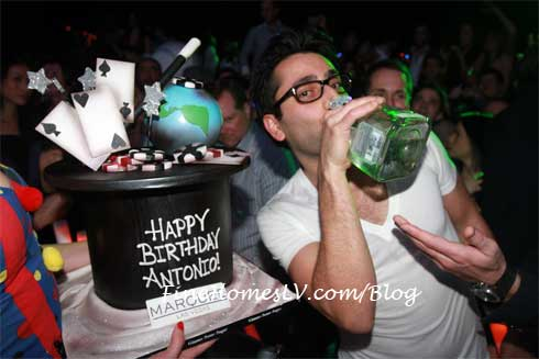 Antonio Esfandiari At Marquee
