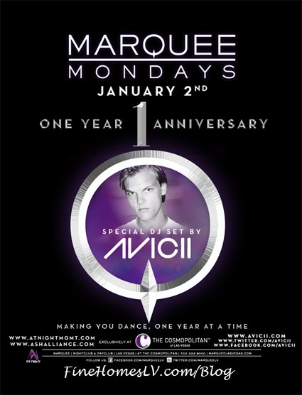 Avicii at Marquee Nightclub