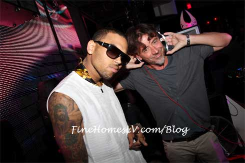Chris Brown and Benny Benassi