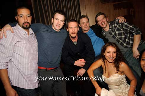 Guillermo Lozano, Chris Evans, Blake Heron, Donnie Biggs, Diella Biggs and Brian Skala