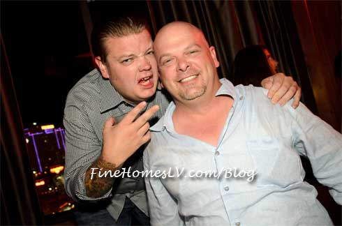 Corey Harrison and Rick Harrison At Marquee Nightclub