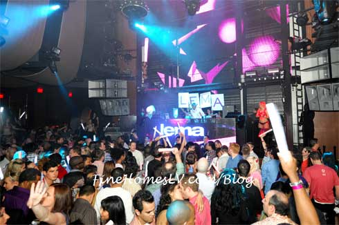DJ Lema at Marquee Nightclub