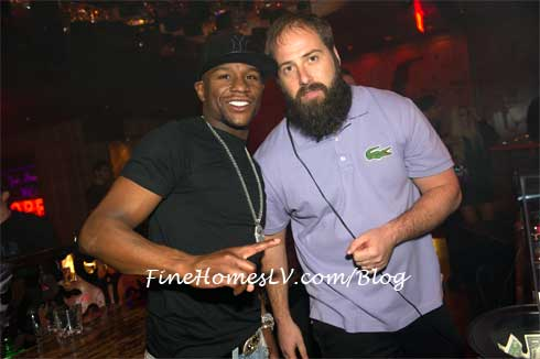 Floyd Mayweather and DJ Matters