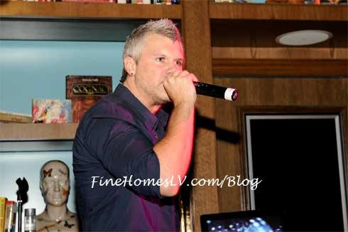 Heath Burgett at Marquee Nightclub
