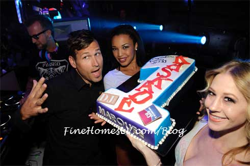 Kaskade With Cake at Marquee Nightclub