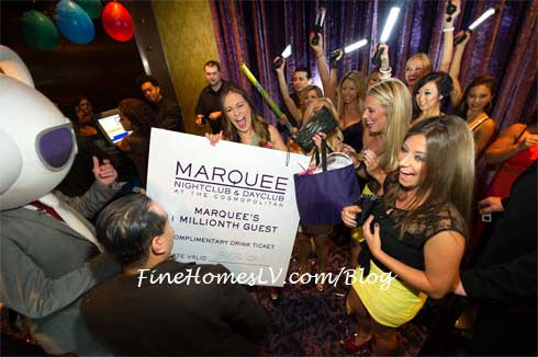 Marquee 1 Million Customer