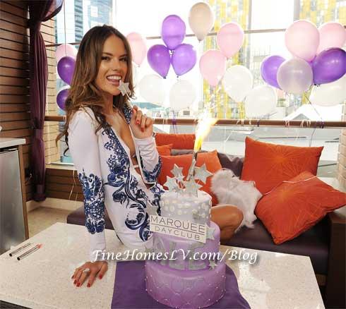 Alessandra Ambrosio at Marquee Dayclub Las Vegas